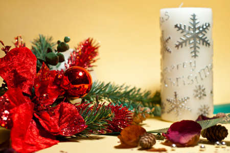 Christmas decorations and ornaments photo