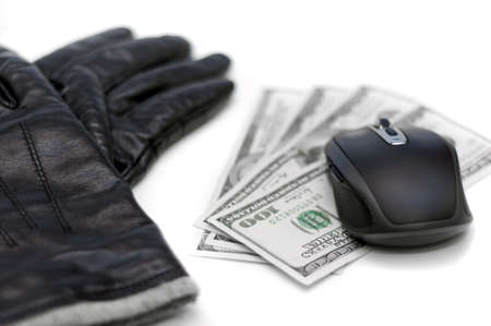Online Banking and shopping, hacking concept Stock Photo - 12185043