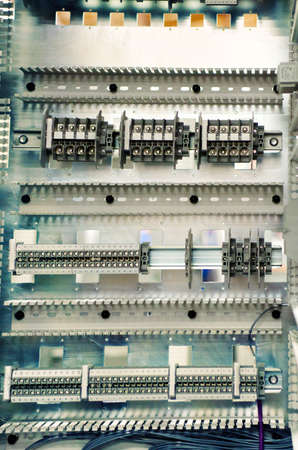 electrical panel: Communication control-circuit industrial electrical panel