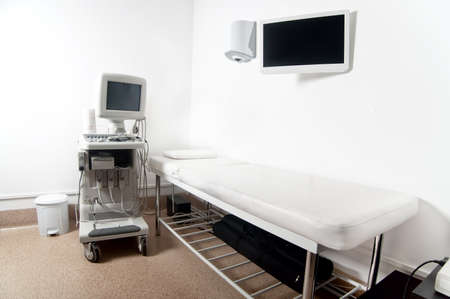 Ultrasound x-ray exam room in hospital or private medical clinic Stock Photo - 22283413