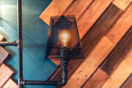 Interior Design Lampen, Wohnraum Raum mit Wänden und Details. moderne Architektur und Design Standard-Bild - 46671581