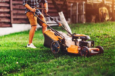grass cutting details. Backyard Gardening and landscaping