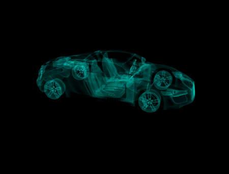 Auto Hologram Audi R8