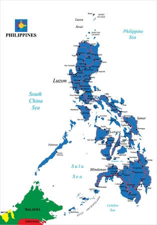 philippines  map: Philippines political map
