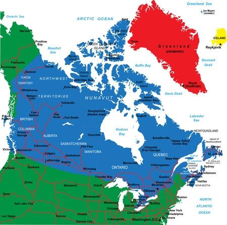 edward: Canada map