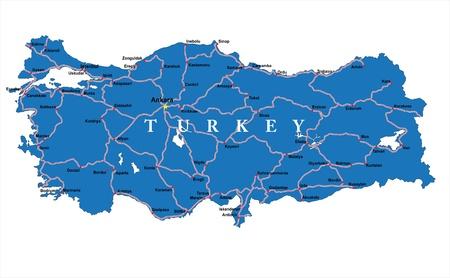 konya: Turkey Map