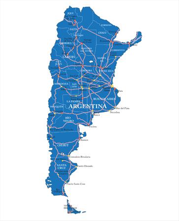 corrientes: Political map of Argntina