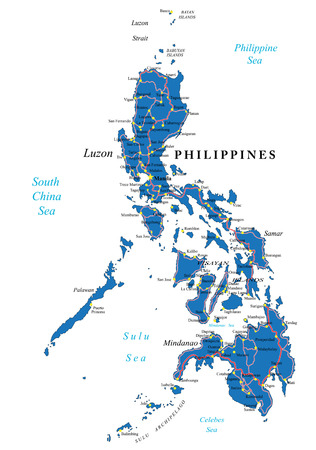philippines: Philippines political map