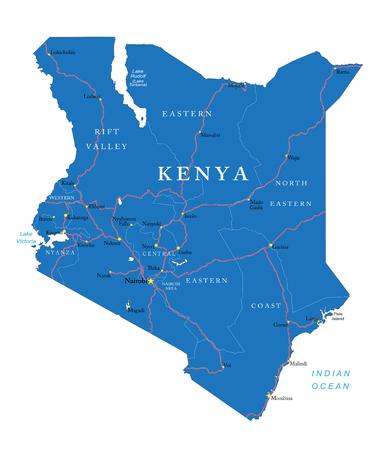 Kenya Map Images Stock Pictures Royalty Free Kenya Map Photos - Kenya map