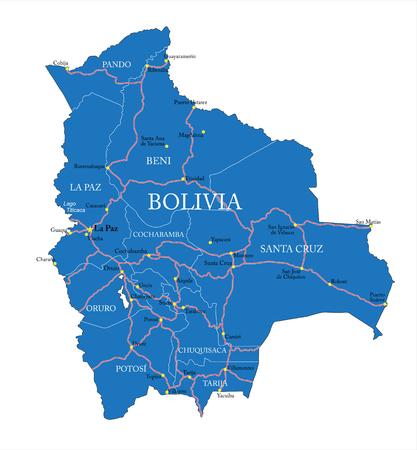 mapa de bolivia: Bolivia mapa