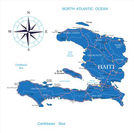 haiti: Haiti  map