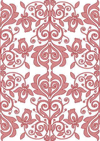 Texture. Ukrainian traditional embroidery. Floral ornament