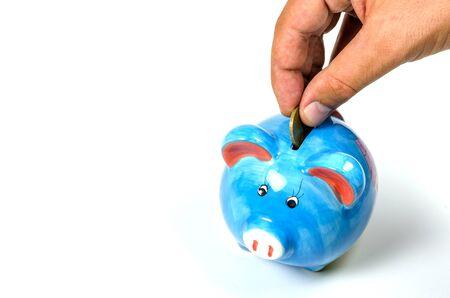money concept: Saving money concept