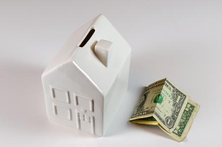 moderate: Saving money concept