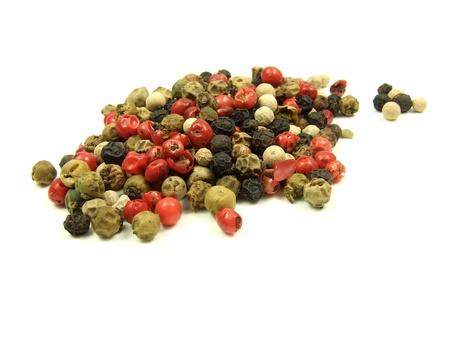 Color pepper herb