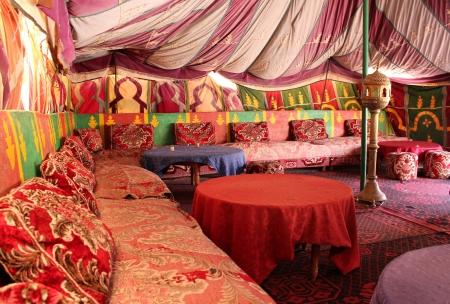 Berber tent, Tafraout, Marocco