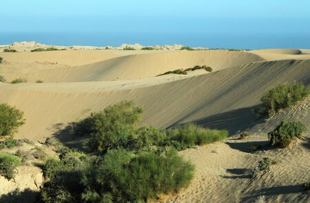 marocco: Sand dunes, Marocco Stock Photo