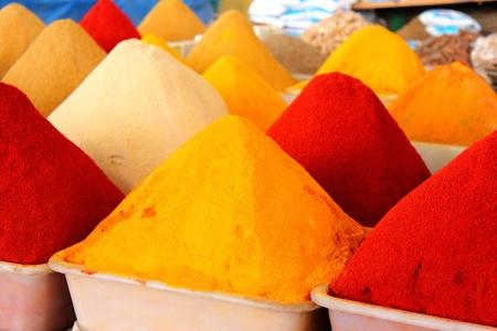Spices market, Agadir souk, Morocco