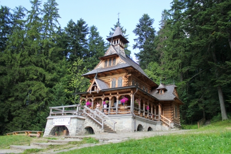 Jaszczurowka Chapel in Zakopane, Poland