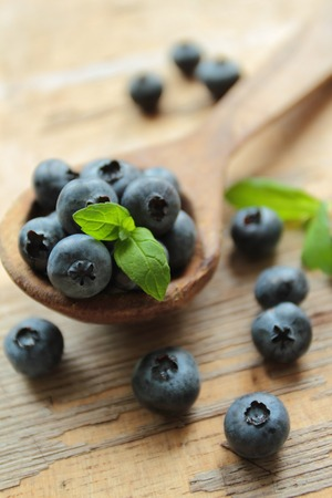 Blueberries fruits