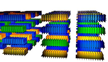 Grid cool 3D Фото со стока