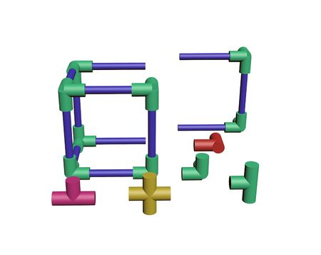 Build a plastic lattice 3D