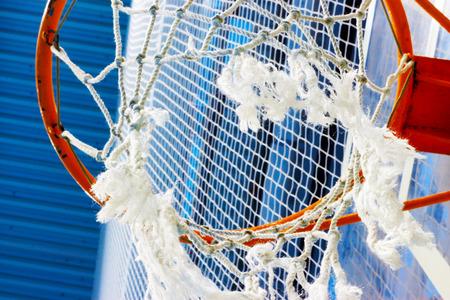 mesh basket for basketball