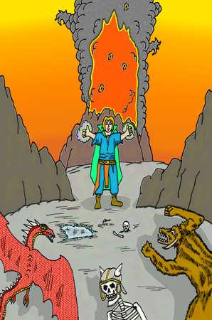 spells: Wizard vs. Monsters