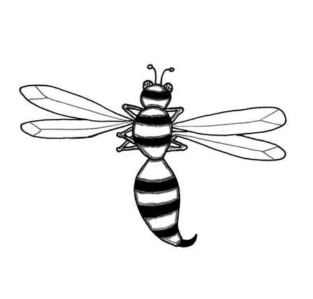 Wasp 版權商用圖片 - 43266079