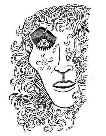 Wizard Ilustrace