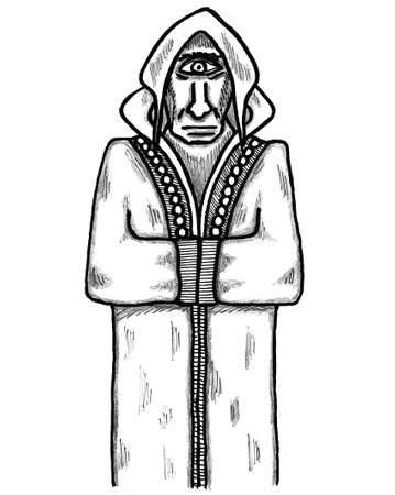 Cyclops Ilustrace