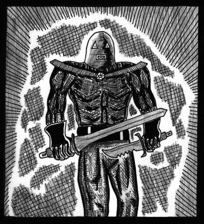 Warrior of Death Çizim