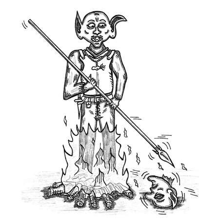 encounter: Goblin con la testa