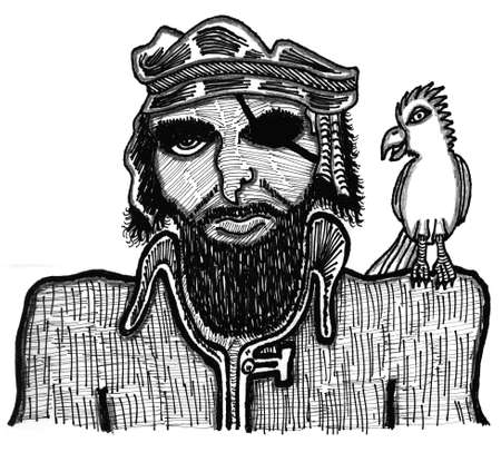 Pirate Illusztráció
