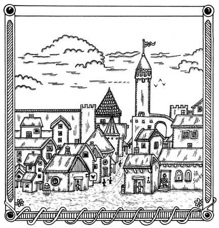 City Ilustrace