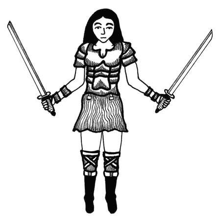 warrior woman: Warrior Woman