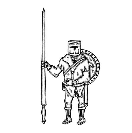 encounter: Knight with Lance