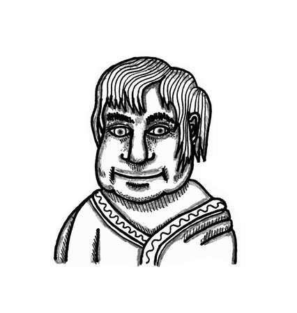 shop keeper: Roman Shop Keeper