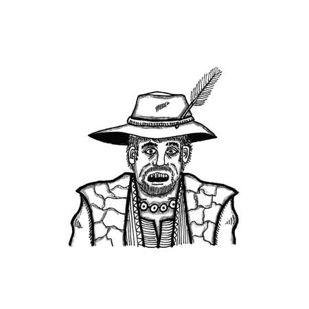 keeper: Fantasy Shop Keeper Illustration