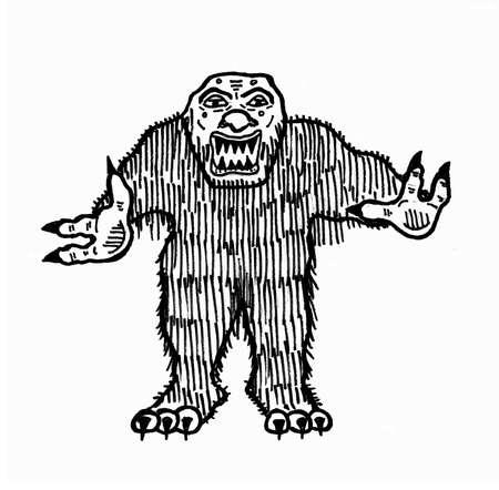 bog: Bog Monster