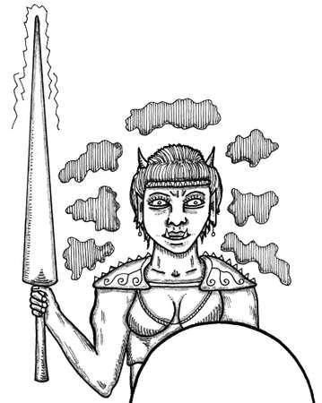 Giantess Ilustrace