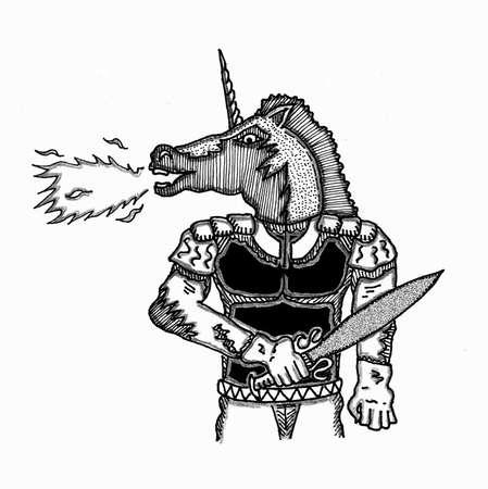 Unicorn Ilustração