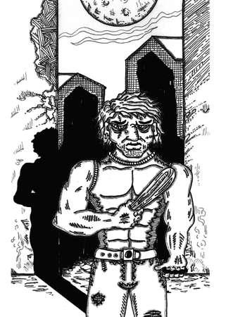 Mugger Illustration