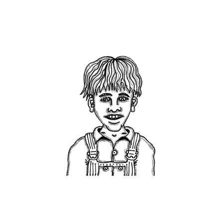 Boy Jim Bob Ilustração