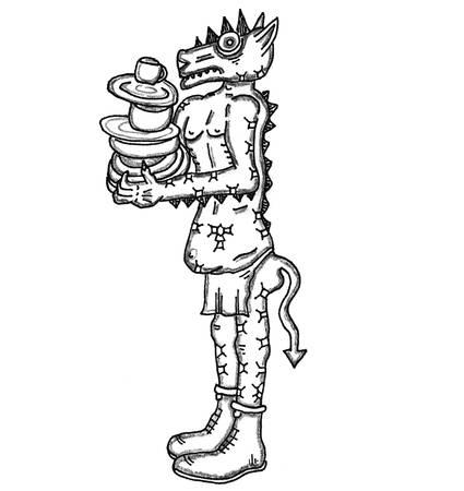 familiar: Kobold Illustration
