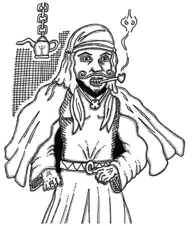 Djinn Ilustração
