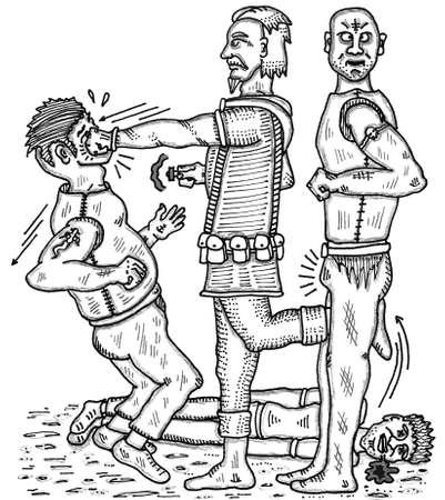 malandros: Lucha contra el pu�o