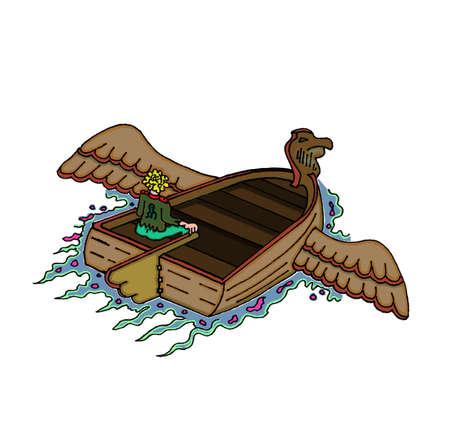 Flying Boat Ilustração