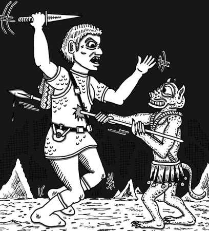 Battle Ilustração