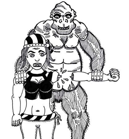 Sailor and Ape